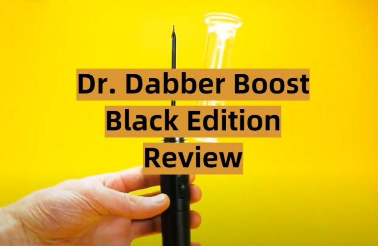 Dr. Dabber Boost Black Edition Review